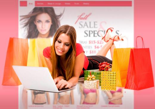 Precio de una tienda online