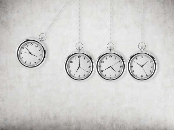Péndulo de relojes.