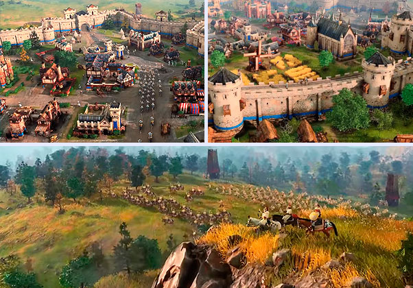 graficos de age of empire 4